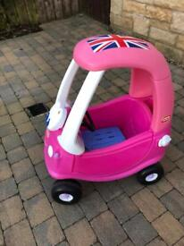 Little Tikes Pink Coupe Car