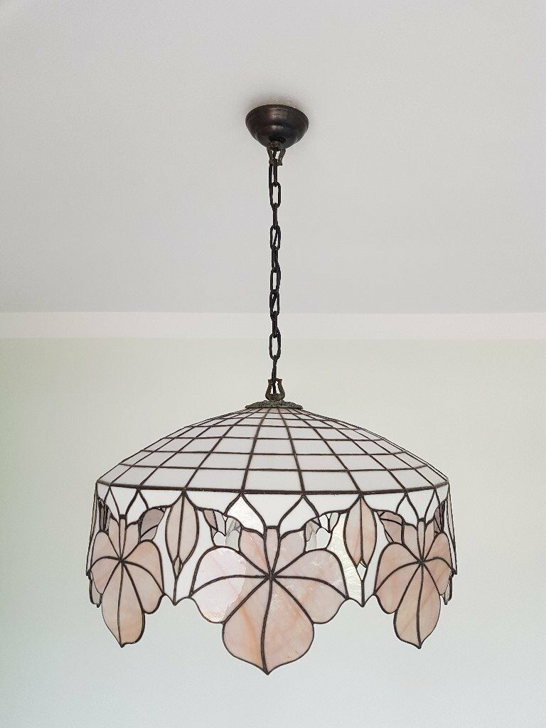 Tiffany Style Pendant Ceiling Light, Chandelier and 2 ...