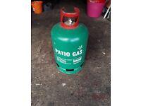 Patio gas cylinder, empty
