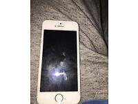 iPhone 5s white unlocked few marks