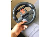 Smartphone steering wheel