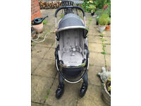 Icandy Peach 3 Truffle Pushchair Single Seat stroller & Carrycot with extras. Pram, buggy, I Candy