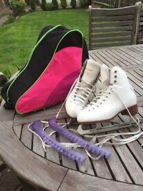 Graf ice skates size 35