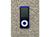 Purple iPod Nano 16GB - faulty