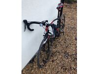 Barracuda Bike Corvus 3 road bike 56cm frame only covered 40 miles collect knowle