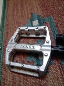 Wellgo Flat pedals BMX MTB