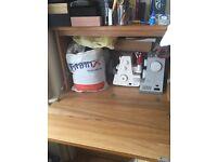 Computer cabinet, desk, storage system