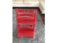 Red Stokke Tripp Trapp Chair