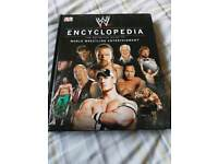 WWE Encyclopedia hardback book