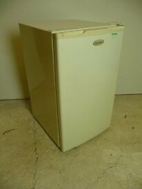 Small under counter fridge. Refrigerator, for home or workshop. Homeking