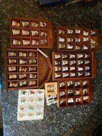 Big thimble collection