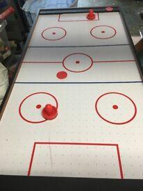 3 foot Football and Air hockey games table