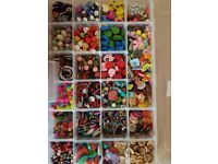 ****LOOK*** MASSIVE COLLECTION OF JEWELLERY MAKING SUPPLIES