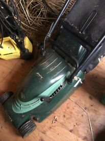 Hayter Envoy electric lawn mower - 12 years old, regularly serviced.