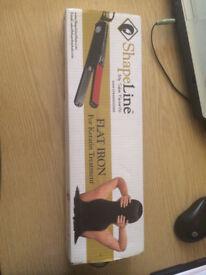 Flat iron straighteners