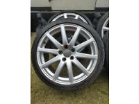 18 inch Audi allied wheels