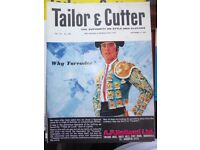 100x Vintage Tailor Magazine 'The Tailor and Cutter' Superb Condition - Rare Collection