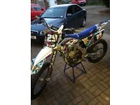 Yz250f 2012 crf kxf sxf rmz yzf motocross bike off road