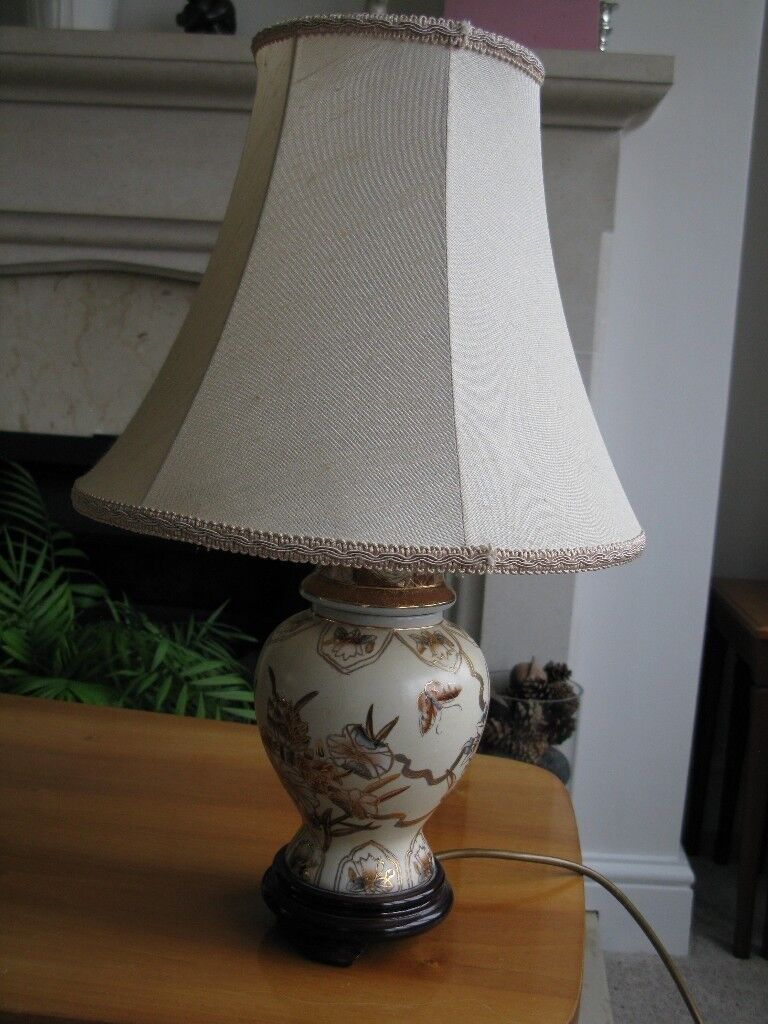 Table Lamp Ginger Jar Style