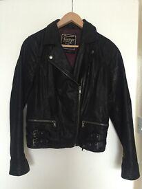 women's genuine leather jacket UK 14