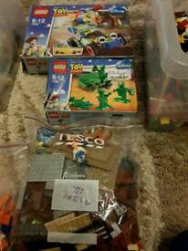 Lego toy story/spongebob and others