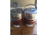 DULUX TRADE WEATHERSHIELD SMOOTH MASONRY PAINT - 2 x 5L TINS