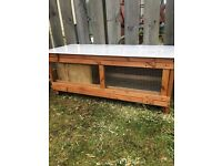 Rabbit Hutch pull out tray box and marble roof