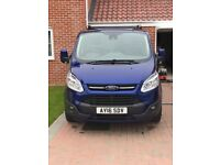 Ford transit custom high spec van with low mileage and recent 1st full service