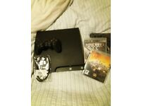 Playstation 3 console + 2 games