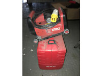 Hilti DC-SE20 Wall Chaser 110v with blades.