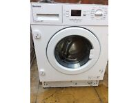 blomberg built in washing machine A++ class 7kg 1600 rpm very nice machine in good wokring order