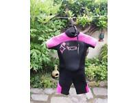 Wetsuit girls age 9.
