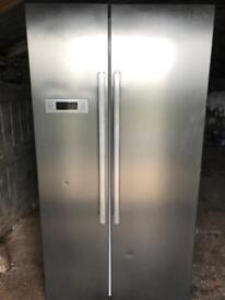 Fridge freezer Kenwood stainless steel American type