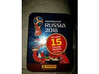 Fifa world cup stickers tins