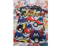 Brand new Pokemon t-shirts. Aged 12-13 years