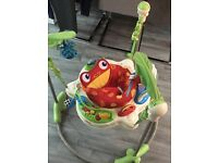 Jumperoo for sale (been used about 6 times)