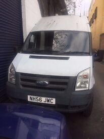 2007 FORD TRANSIT 2.4 DIESEL MANUAL WHITE MOT HPI CLEAR QUICK SALE