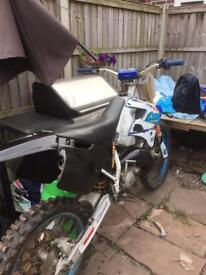 Tm125 rolling chassis
