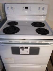 Like New Frigidaire White Stove, FREE WARRANTY, Delivery Available