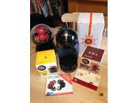 Delonghi Dolche Gusto coffee machine.