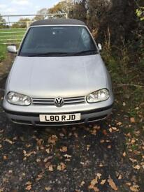VW Golf 1.6 Cabriolet sports 1999 mod (Breaking)