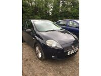 Fiat Punto Grande 1.4l 3 door, dark blue, good condition