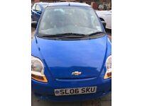 Chevrolet Matiz, Blue, 2006, Petrol, £850.00 Clean Outside, Impeccable Interior, July'18 MOT