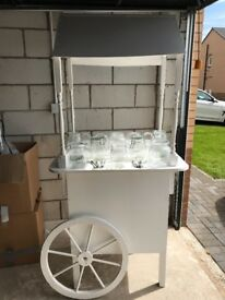 Candy Cart For Sale With 13 Jars