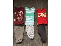 Bundle of 0-3 month boys clothes, good condition (over 40 items)