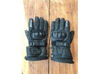 Weise leather bike gloves