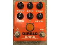 OKKO DIABLO GAIN PLUS overdrive; distortion; boost; dual switch