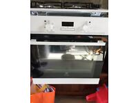 Electrolux Integrated Electric Oven and Gas Hob