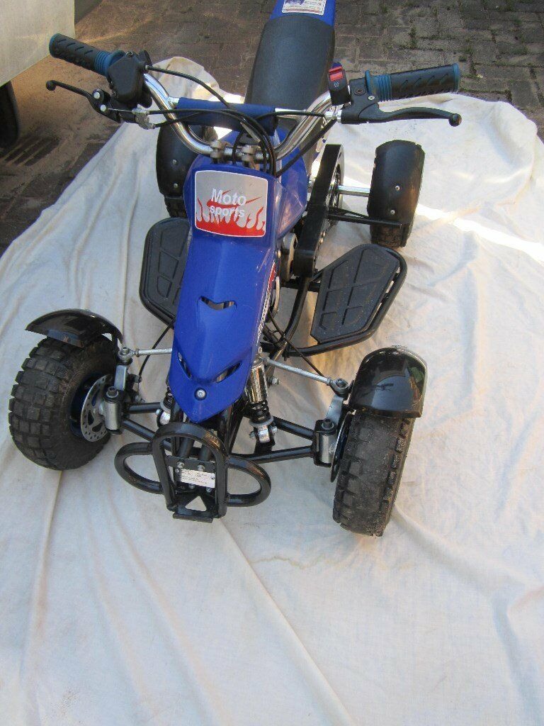 MIDI ATV 2 Stroke Childs Off Road Motor Sports Quad Bike 2 ...