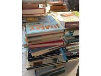 Large Collection of cookery books